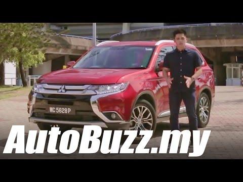 2016 Mitsubishi Outlander 2.4 MIVEC SUV Review - AutoBuzz.my