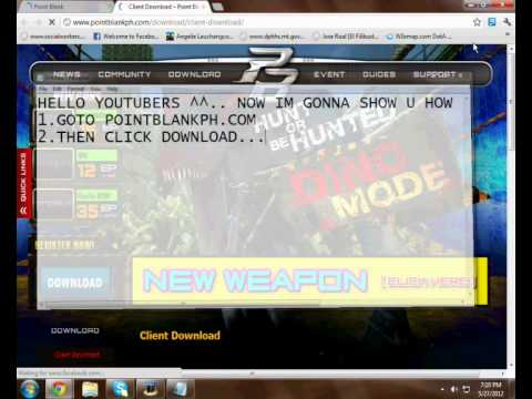 How to download Point Blank PH 100% WORKING