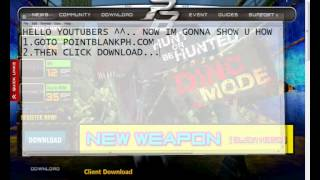Gambar cover How to download Point Blank PH 100% WORKING