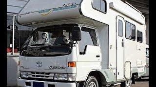 Toyota Camroad leo 4wd motorhome.
