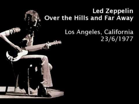 Over the hill and far away led zeppelin lyrics