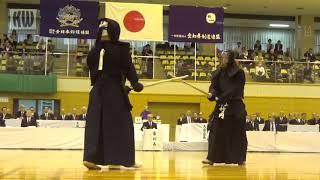 17th All Japan 8-dan Kendo Championships - SF1 - Takeuchi Tsukasa vs. Eiga Naoki
