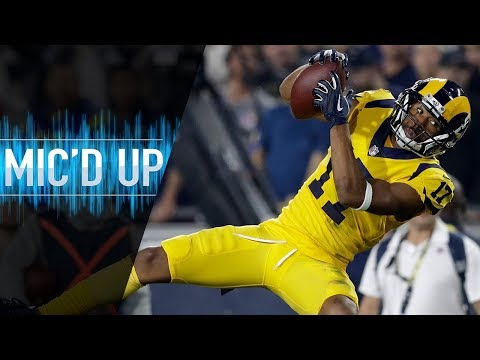 """Robert Woods Mic'd Up vs. Chiefs """"""""How much do these dudes remind you of us on offense""""  