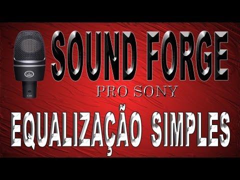 Sound Forge Pro - Equalização Simples