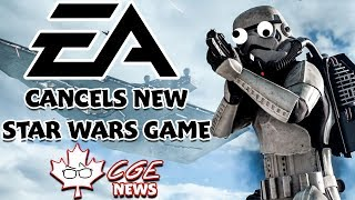 EA Cancels Open World Star Wars Game - CGE News