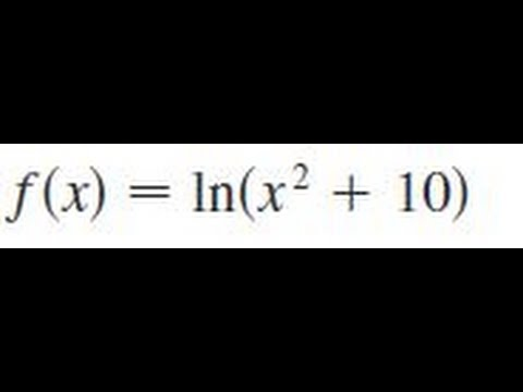 Differentiate g(x)=LN(2)+2LN(x)?