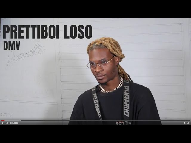 Prettiboi Loso on his DMV Origins, New School vs Old School Dancers & Beat ya Feet [Full Interview]