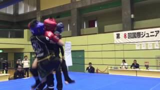 国際ジュニアキックボクシング第8回チャンピオン決定戦 バンタム級 優勝!