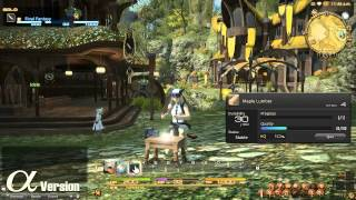 FINAL FANTASY XIV: A Realm Reborn -- Gathering and Crafting (Alpha)