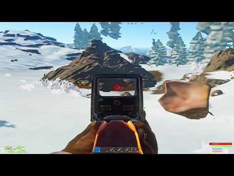 RUST PVP HIGHLIGHTS #6   SEA VITAL WITH SAW   12 BOXES OF AKS