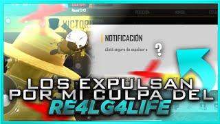 EXPULSAN A 4 JUGADORES DEL CLAN RE4LG4LIFE POR MI CULPA/COMPARES🇲🇽