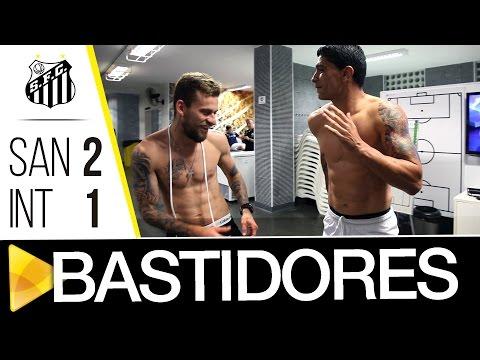 Santos 2 x 1 Internacional | BASTIDORES | Copa do Brasil (28/09/16)
