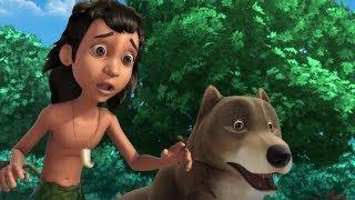 Маугли - Храм волка часть 1  –развивающий мультфильм для детей HD