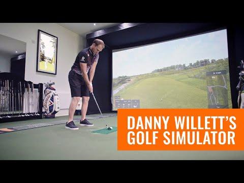 Danny Willett's Golf Simulator