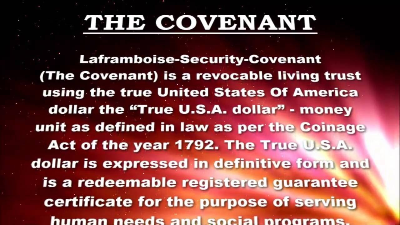 2018] laframboise security covenant - revocable living trust