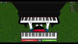 Silent Night on Roblox Piano