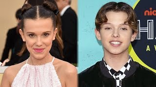 Jacob Sartorius Shares CUTE Pic With Millie Bobby Brown