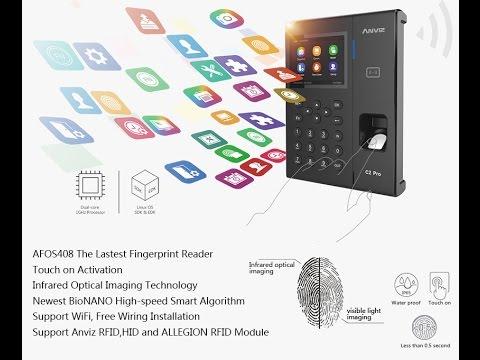 C2-PRO Anviz Fingerprint /& Rfid ACCESS CONTROL TIME RECORDING Time Clock