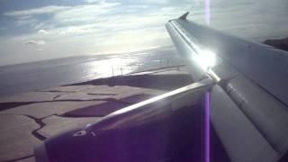 hamburg airways a 319 landing gclp rwy 03l