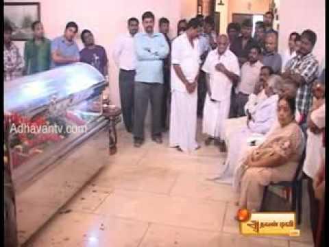 Ilayaraja -Wife death.
