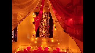 Wedding Anniversary Decoration Idea At Home Romantic Room Decoration Idea Valentine Decor Idea Youtube