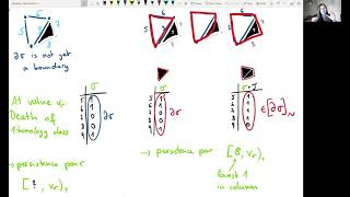 Intuition for Persistent Homology Reduction Algorithm [Teresa Heiss, Tutorial-a-thon]