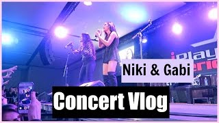 Niki and Gabi Concert | Performance Vlog *LIVE SINGING*