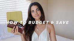 How To Budget And Save  in Your 20's | Tips and Tricks