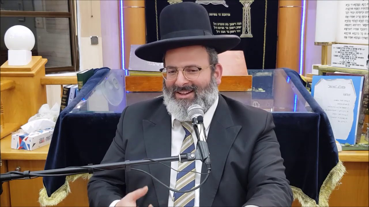 """הרב יצחק לוי שליט""""א - פורים ושושן פורים - תשע""""ט"""
