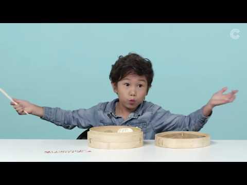 Дети Пробуют Китайскую Еду?!