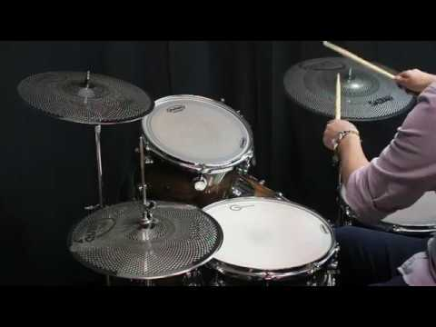 Sabian Quiet Tone Set 13 14 18 Qtpc502 Youtube