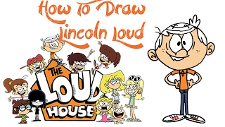 How To Draw Lincoln Loud (THE LOUD HOUSE)