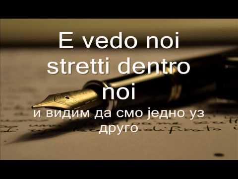 Laura Pausini In assenza di te srpski prevod