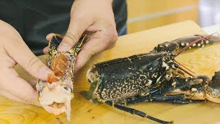 EXTREMELY GRAPHIC: Killing Living Lobster to Make Sashimi