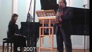 Neidich Gorokholinskaya Mendelssohn Sonata for Clarinet and Piano 2nd mov.