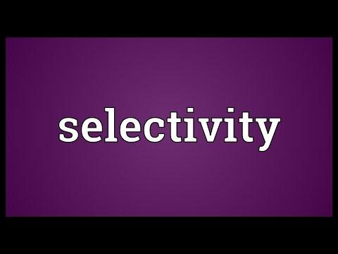 Header of selectivity