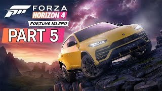 "Forza Horizon 4 - Fortune Island DLC - Let's Play - Part 5 - ""Island Conqueror Round 5"" | DanQ8000"