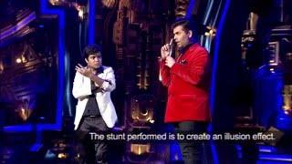 TC The Mentalist Show Reel - India's Got Talent Mentalist