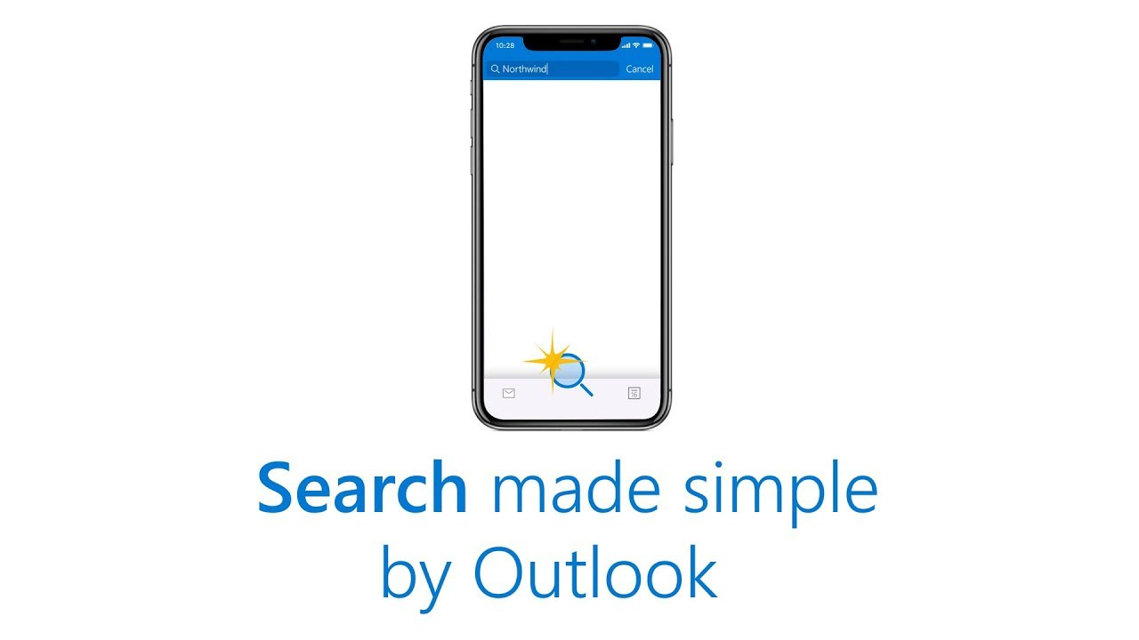 Simple search in the Outlook app - Outlook for mobile