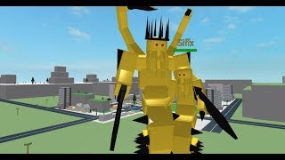 ROBLOX | Godzilla Simulator | Yellow Family!