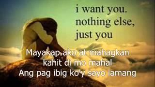 kahit sandali (lyrics)-Jennylyn Mercado
