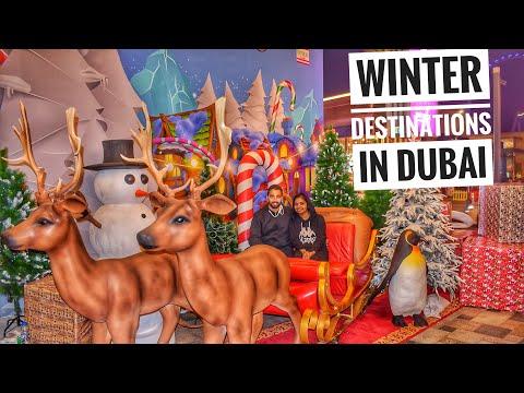 Winter Wonderland Dubai | ദുബായിലെ ക്രിസ്മസ് ശൈത്യകാല ആഘോഷങ്ങൾ | Fitness Travel Eat by Lubna Fathah