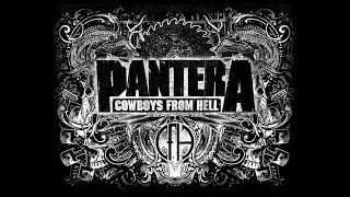 Pantera - Cowboys from hell (Backing Track)