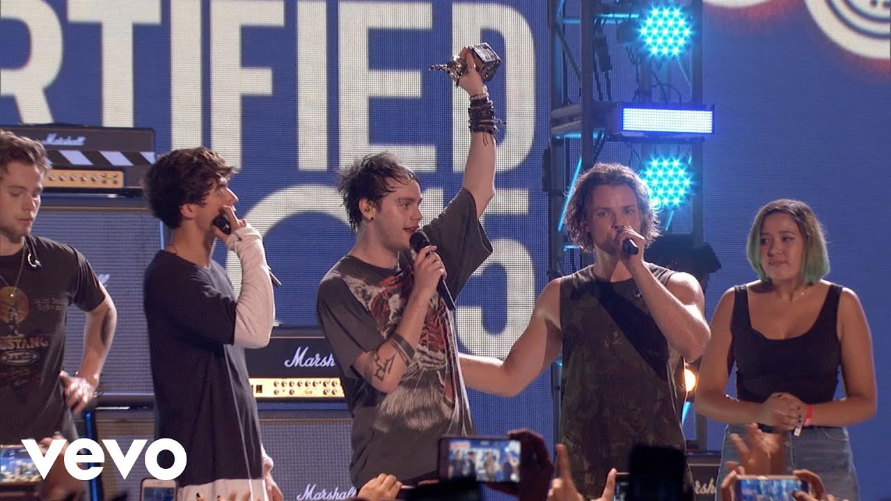 5 Seconds of Summer - Award Presentation (Vevo Certified Live)