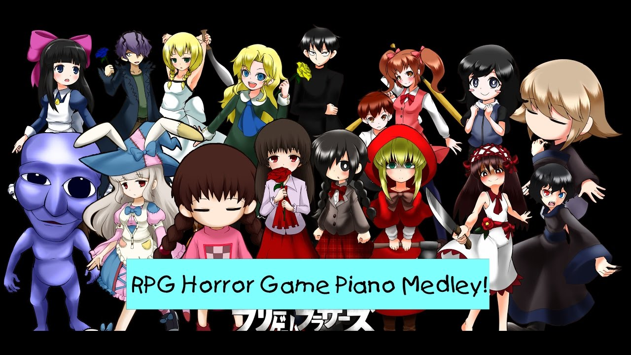 Rpg horror game piano medley