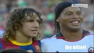 Барселона не забывает своих игроков    Роналдиньо