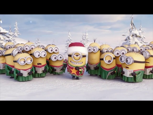 Los Minions Feliz Navidad 2018