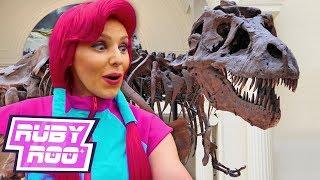 DINOSAUR MUSEUM - Ruby Roo | LEVEL 10 | Kids Videos | Sandaroo | Dinosaurs For Kids | Live Action