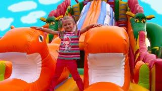 Развлекательный Центр для Детей с БАТУТАМИ и Горками | Indoor Playground for Kids