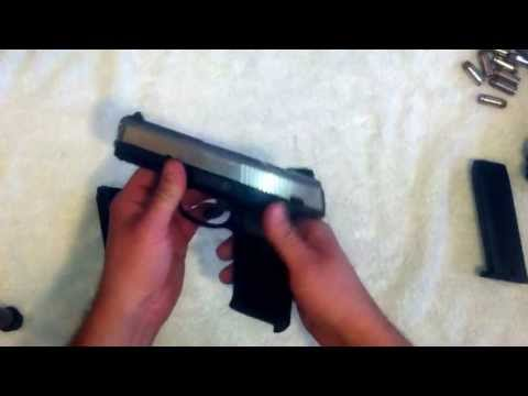 Review of the Ruger SR40 double stack .40 S&W semi auto pistol.